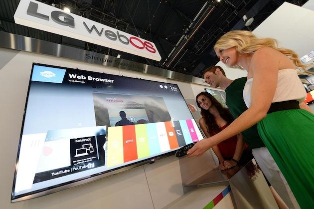 TiVi chạy WebOS của LG đạt được những thành công ban đầu